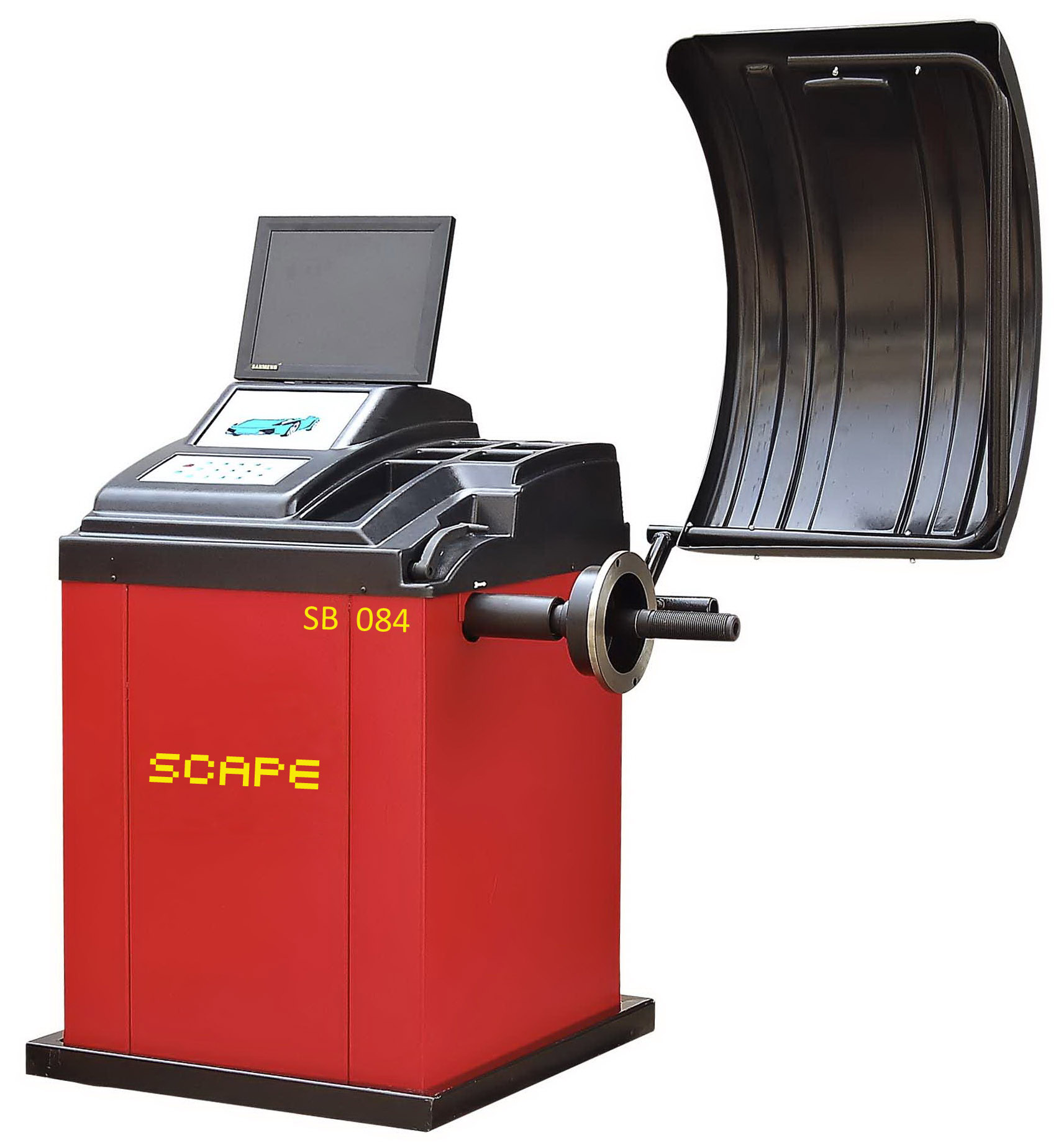 Automatic wheel balance machine with LCD and CE SB-084